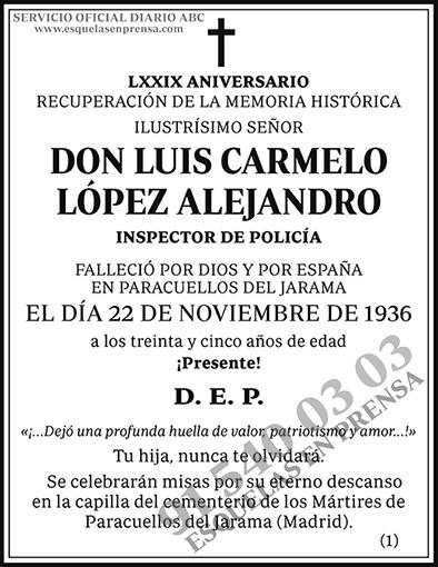 Luis Carmelo López Alejandro